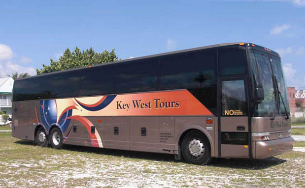 Key West Tour Bus