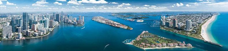 Экскурсия по Майами и водная прогулка