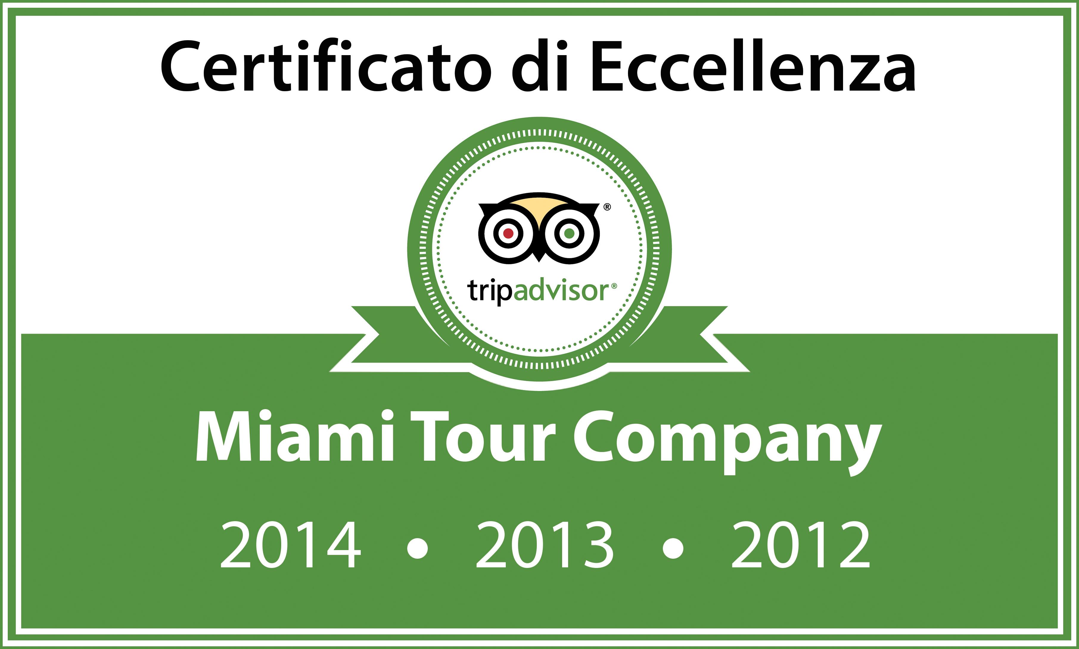 TripAdvisor Certificato di Eccellenza per la soddisfazione del cliente