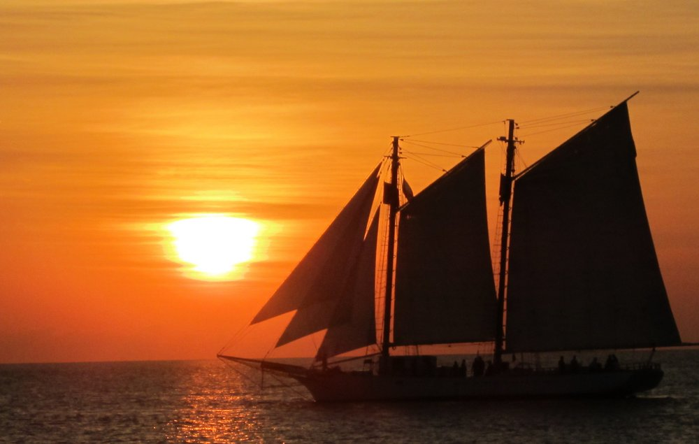 Key West pôr do sol