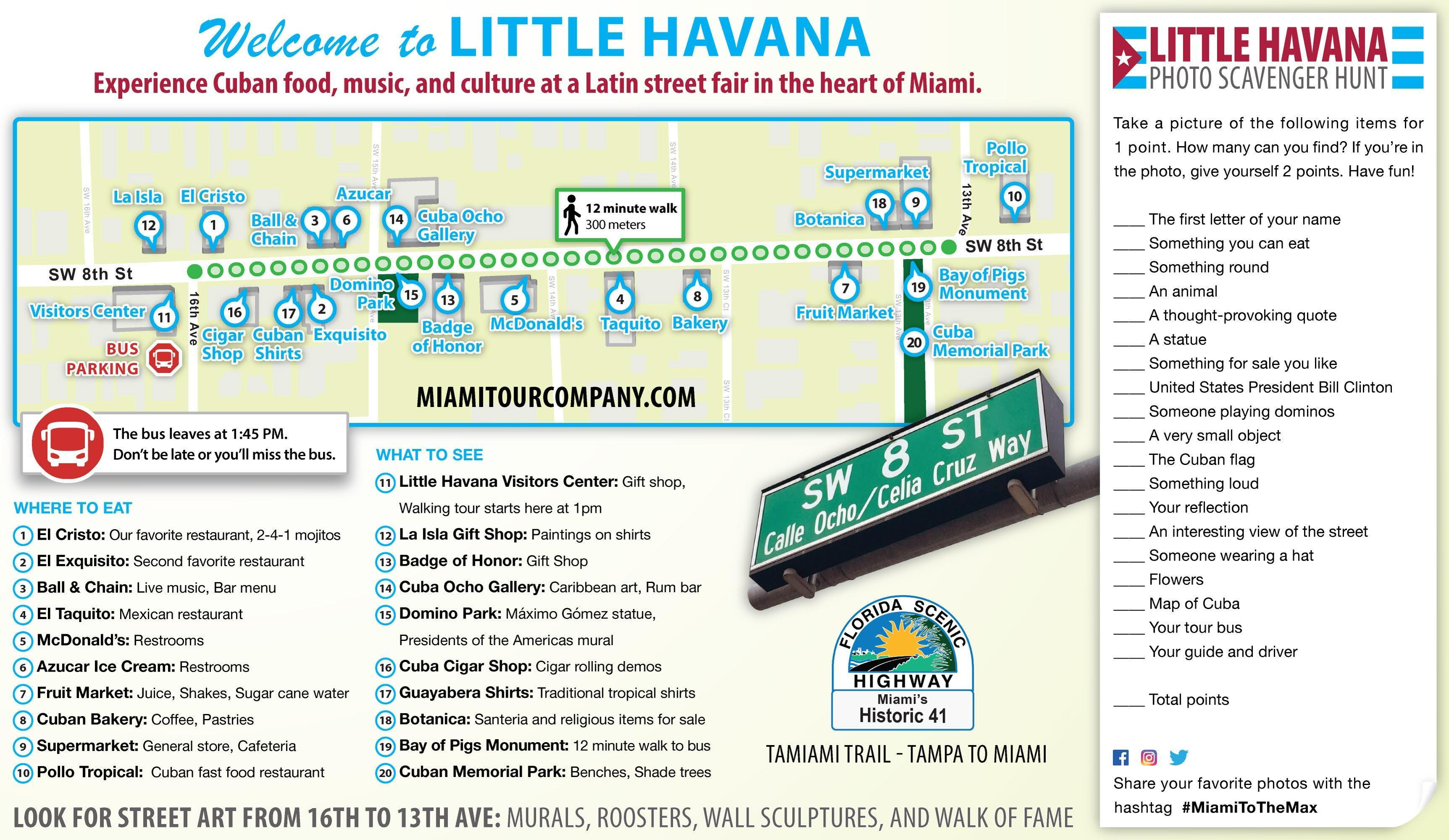Little Havana Map