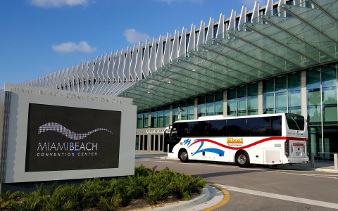 Bus Charter Service for Corporate Events in Miami