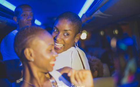 Party Bus Rental for Nighttime Events