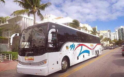 Rent a Motor Coach in Miami