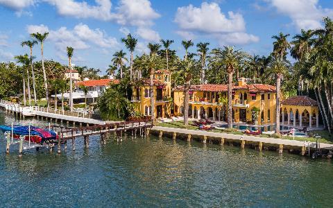 Besichtigen Sie Häuser von Prominenten - Miami Bootsrundfahrt