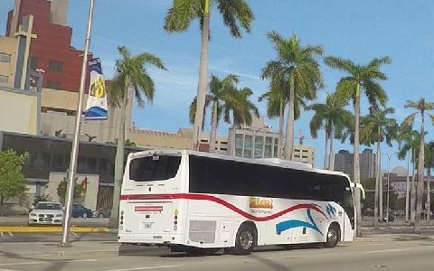 Church Bus Rental in Miami