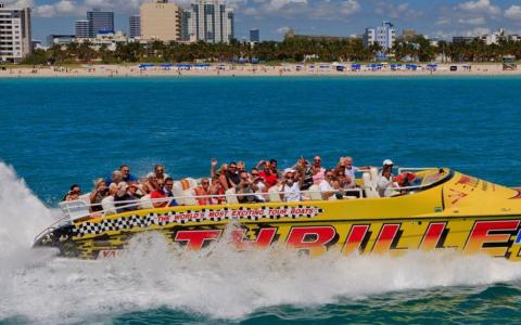 立即参加一次有趣的船游迈阿密之旅