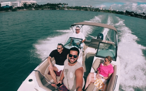 Excursion privée en bateau à Miami